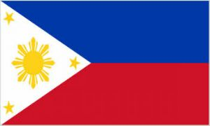 Philippines Large Country Flag - 3' x 2'.